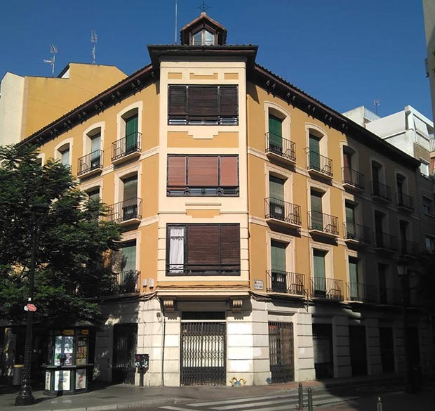 Edificio del Coso nº 158