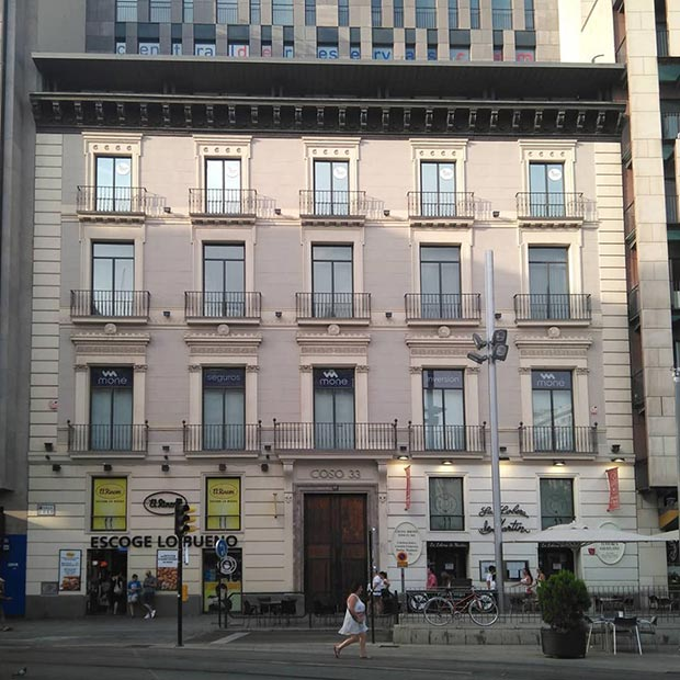 Edificio del Coso numero 33
