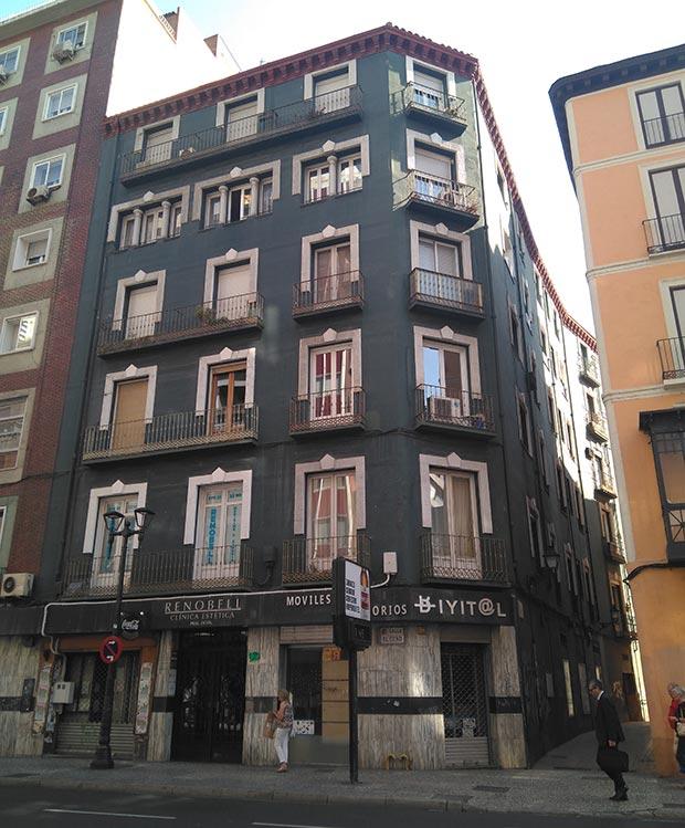Edificio del Coso nº 92 marques de urrea zaragoza