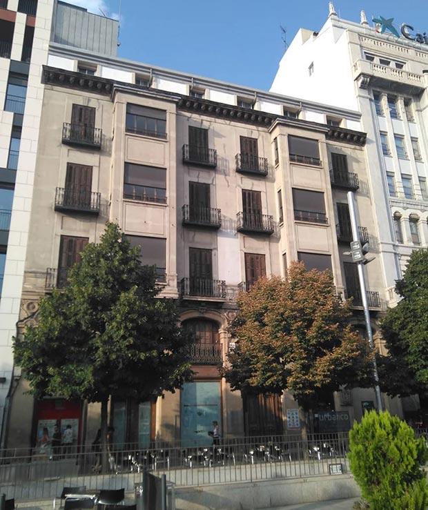 Edificio del Coso numero 43-45