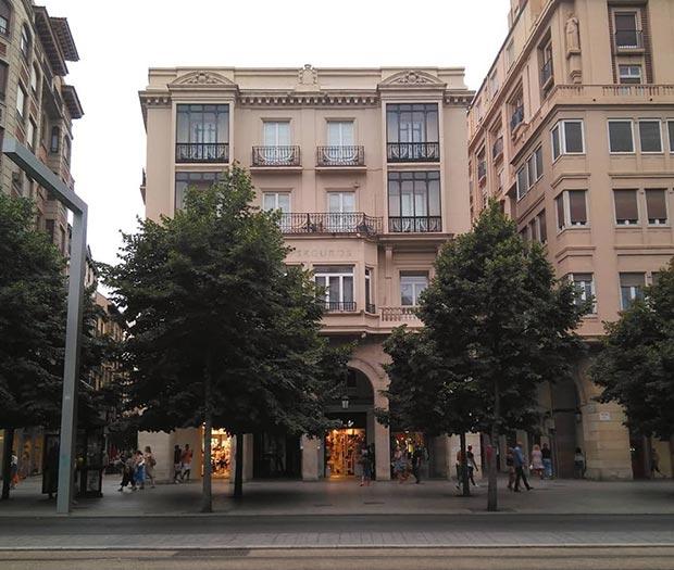 Edificio del Paseo de la Independencia nº 16