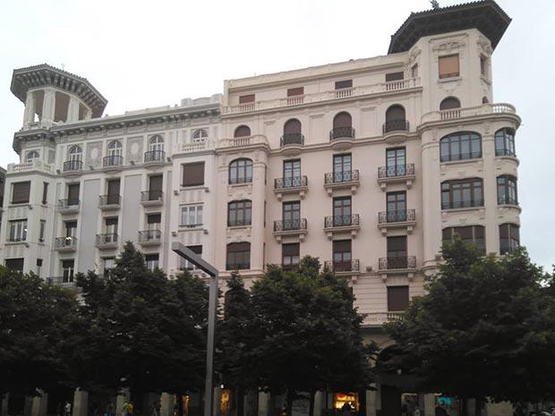 Edificio del Paseo de la Independencia nº 31