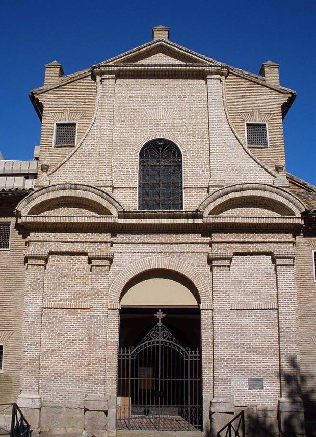 Fachada del Convento de las Fecetas