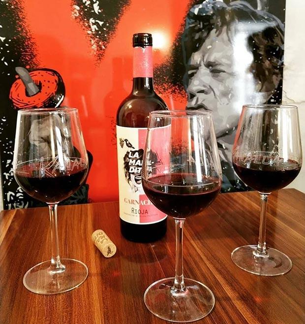 Gastrotaberna Kanalla vinos