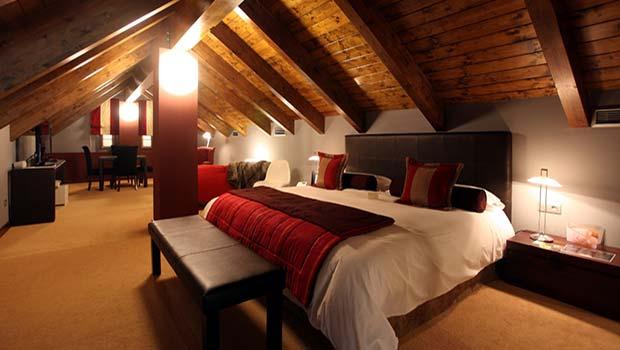 Dormitorio y Sala de Estar , Suite El Privilegio