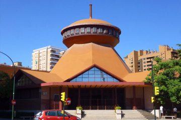 Iglesia de Santa Mónica en Zaragoza