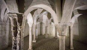 Interior de los Baños Judíos de Zaragoza