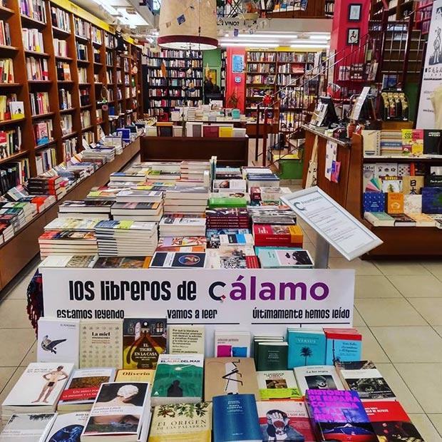 Librería Cálamo de Zaragoza