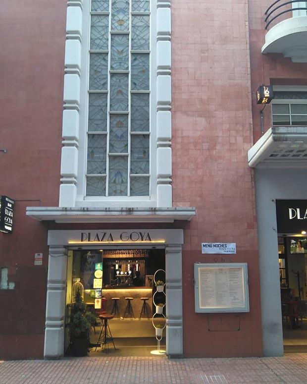 Los antiguos Cines Goya de Zaragoza