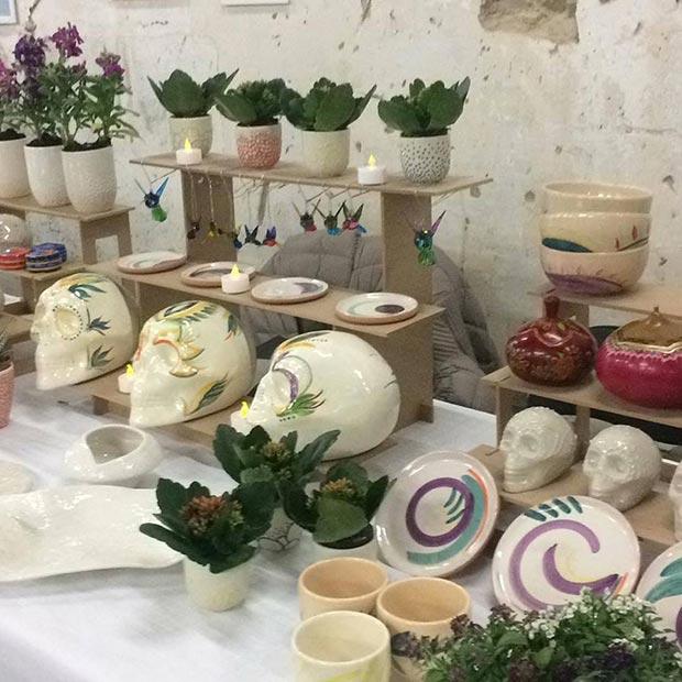 Nuscaa tienda taller de ceramica
