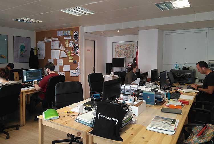 Oficina de Imascono en Zaragoza