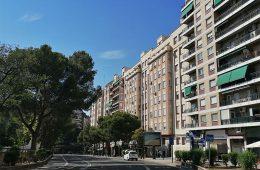 Paseo de Cuéllar de Zaragoza