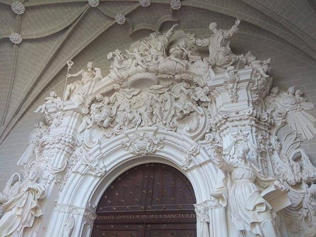 Portada Rococó de Ramírez de Arellano