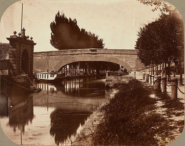 Puente de América primitivo en el año 1880