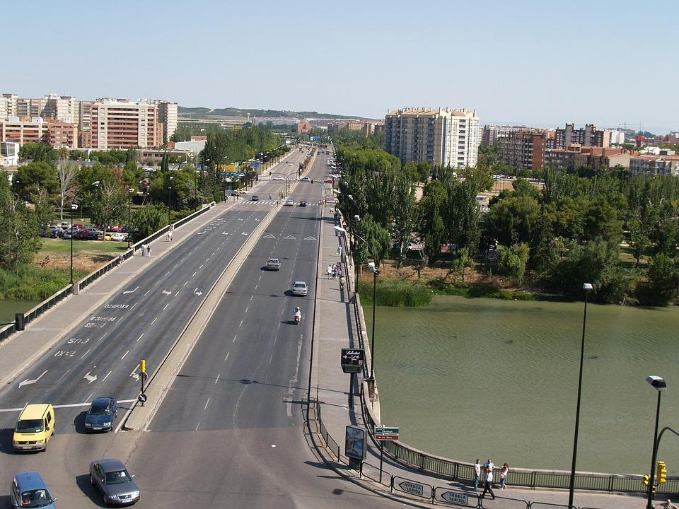 Vista del Puente de Santiago