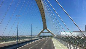 Puente del Tercer Milenio cierra el Tercer Cinturón