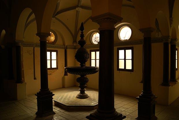 Claustrillo de la Cartuja de Aula Dei en Zaragoza