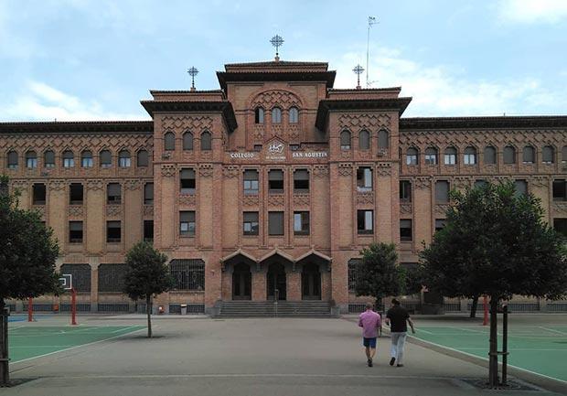 colegio de los agustinos tenor fleta zaragoza