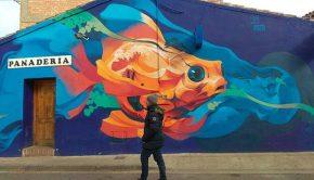 Intervenciones Artísticas del Festival Asalto en Alfamén