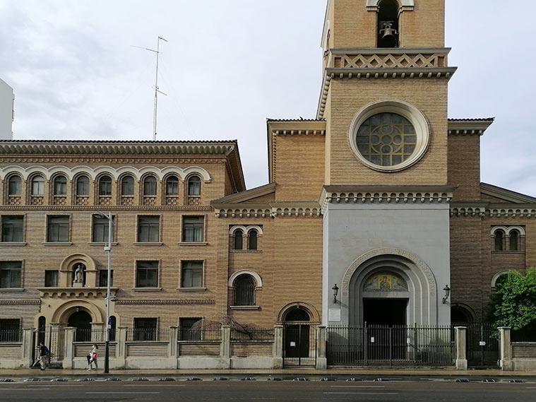 iglesia del perpetuo socorro avenida goya zaragoza