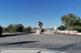 Puente de la Almozara en Zaragoza