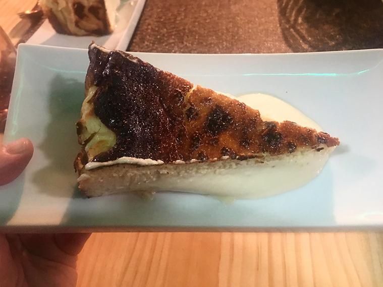 tarta de queso en el nola gras