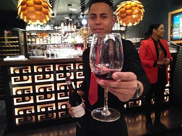 restaurante sante belinda vino de aragon