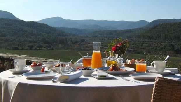 Almuerzo en la Terraza de la Torre del Visco