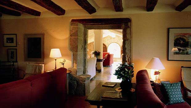Hotel La Torre del Visco, Sala de Estar