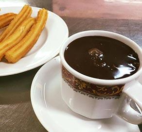 Chocolatería Lalmolda churros en zaragoza