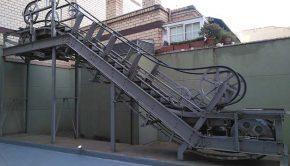Las primeras escaleras mecánicas de España se instalaron en Zaragoza