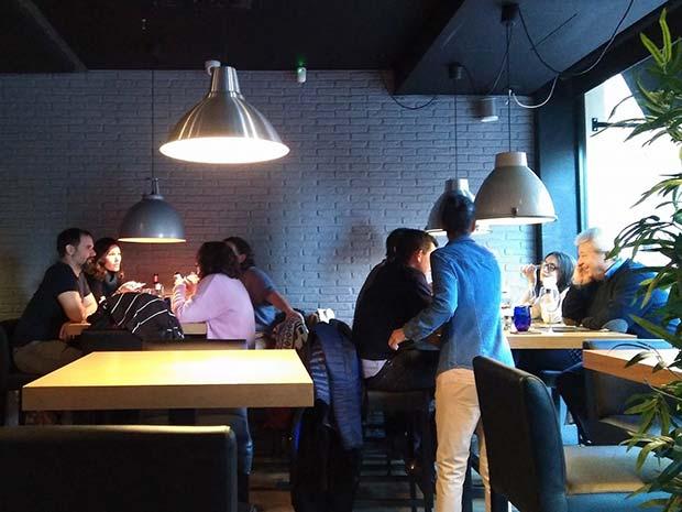 Interior del Restaurante Smooth