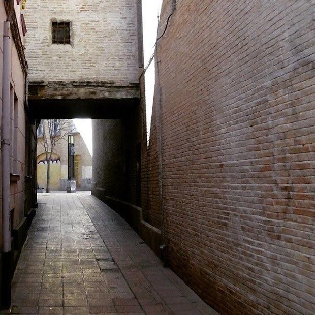Calle Organio con Calle Mayor