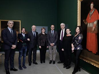 Exposición 'Goya y la familia Borbón-Vallabriga' en el Museo Goya