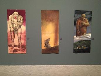 """Exposición """"Natalio Bayo, Variaciones Goyescas"""" en el IAACC Pablo Serrano"""
