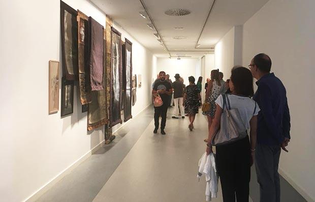 Exposicion en la Galería A del Arte de Zaragoza
