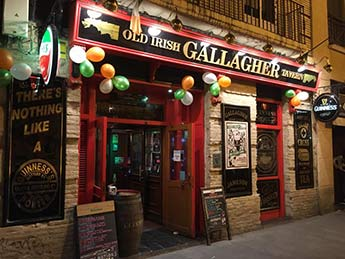 Gallagher Irish Tavern en Zaragoza