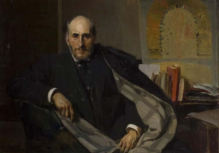 Joaquín Sorolla. Santiago Ramón y Cajal 1906