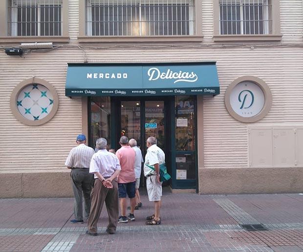 Mercado Delicias, inaugurado en 1949
