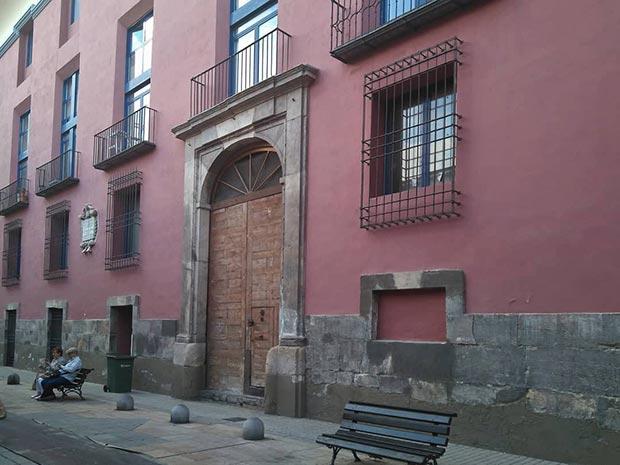 antiguo palacio de palafox en zaragoza