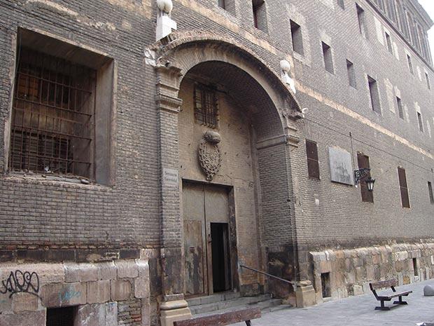 antiguo seminario de san carlos fachada sin restaurar