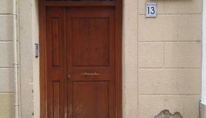 Casa de Santiago Ramón y Cajal en el número 13 de la calle Méndez Núñez de Zaragoza