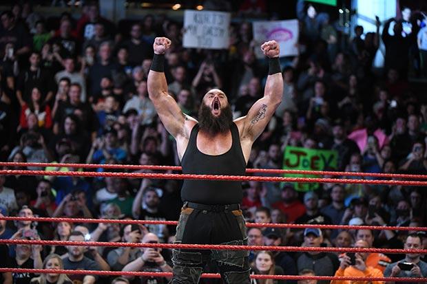 Braun Strowman en WWE Live en el Pabellón Principe Felipe de Zaragoza