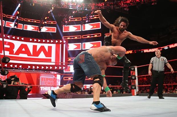 Seth Rollins en el WWE Live del Principe Felipe de Zaragoza