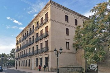 El antiguo Cuartel de Sanguenis o de Pontoneros de Zaragoza