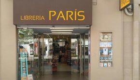 Exterior de la Librería París en Fernando el Catótilco, Zaragoza