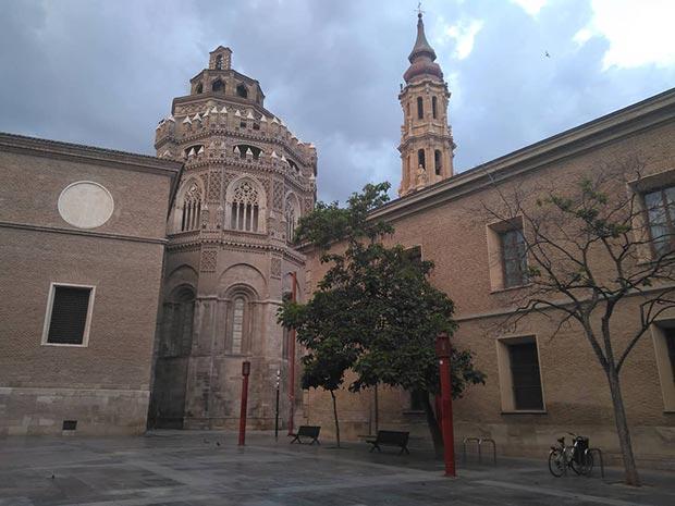 Parroquieta y cimborrio de la catedral de La Seo
