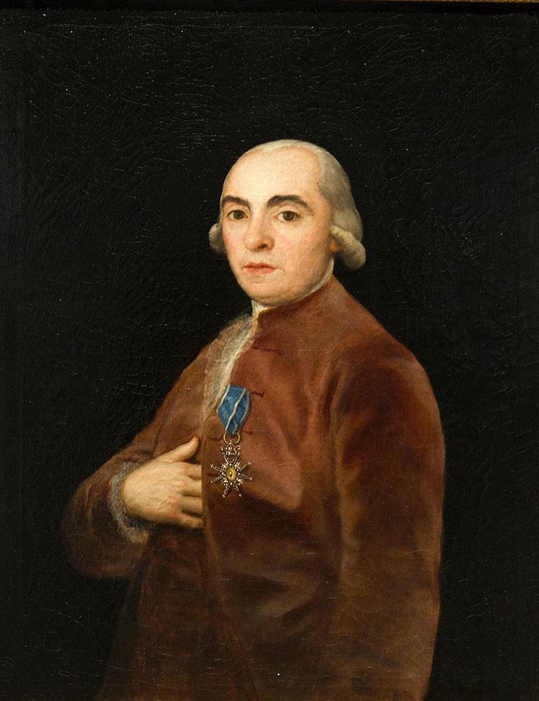 retrato martin goicoechea realizado por goya en 1790