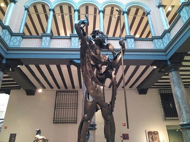 Escultura 'El Gran Profeta' de Pablo Gargallo