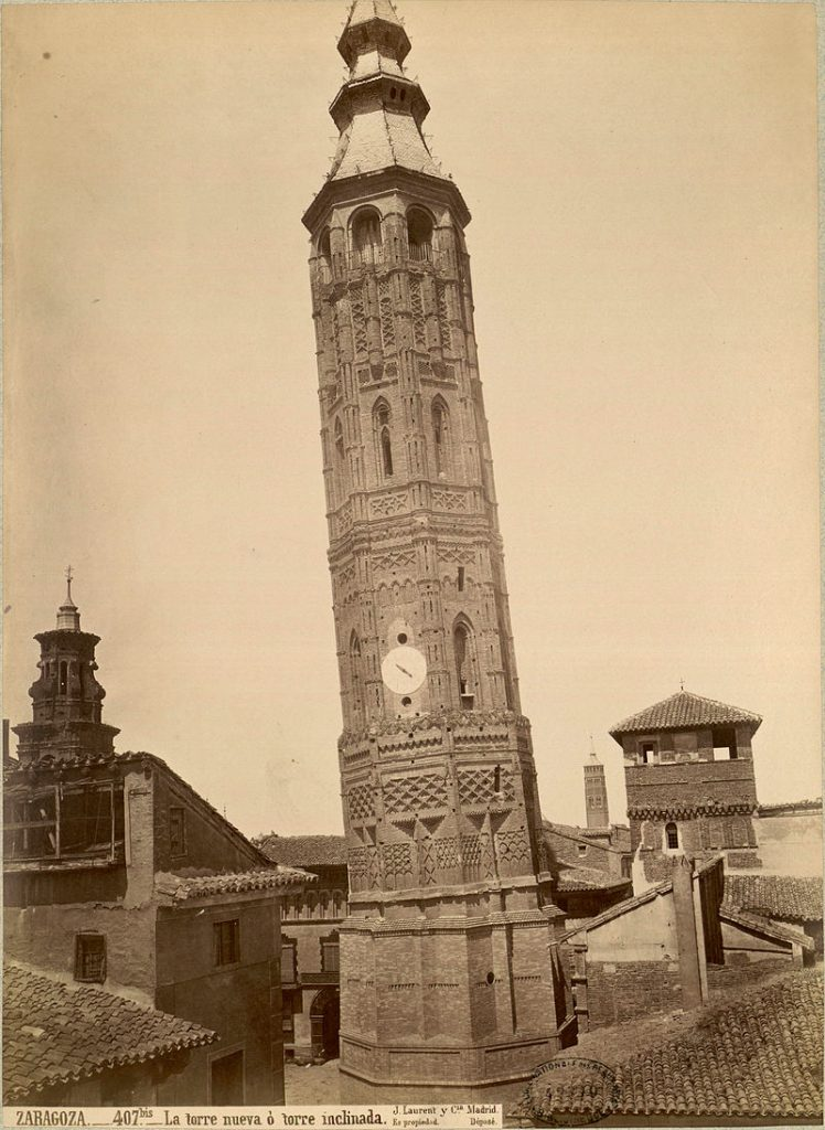 La Torre Nueva. Fotografía de J. Laurent, hacia el año 1876